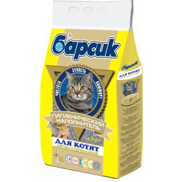 Барсик для котят впитывающий наполнитель 4,54л