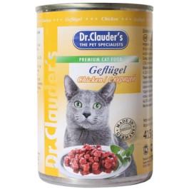 Dr.Clauder's консервы для кошек, курица 415г