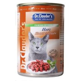 Dr.Clauder's консервы для кошек, сердце 415г