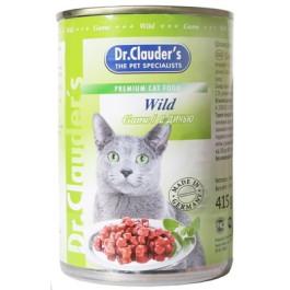 Dr.Clauder's консервы для кошек, дичь 415г