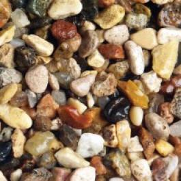 Грунт натуральный для аквариума Пестрый 3-5мм 2кг