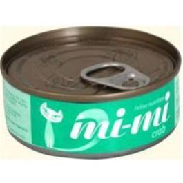 Mi-Mi консервы для кошек с мясом краба 80гр