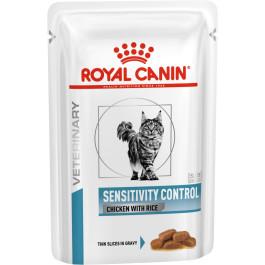 Royal Canin Sensitivity Control консервы для кошек при пищевой аллергии и непереносимости 85г