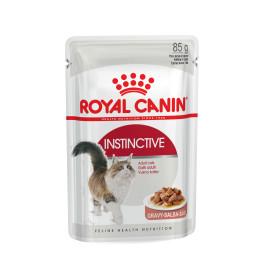 Royal Canin Instinctive консервы для кошек старше 1года кусочки в соусе 85г