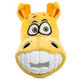 Игрушка для собак плюш Зубастый жираф 14cм Triol