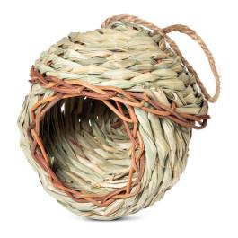 "Triol Гнездо-Домик NATURAL для птиц из луговых трав ""Избушка"", d135*145/265мм"