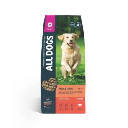 All Dogs корм для собак всех пород с говядиной и овощами