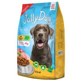 Зоогурман Jolly Dog Корм для собак Мясное ассорти 13кг