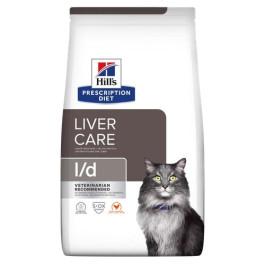 HILL'S диета для кошек L/D лечение заболеваний печени  1,5кг
