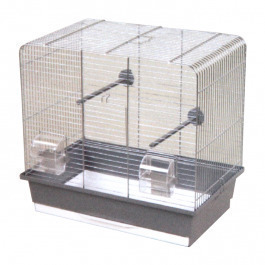 INTERZOO Клетка для птиц LUNA, цинк 45*28*42,5см