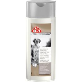 8in1 Шампунь для собак светлых окрасов с отбел. экстрактами, с алое и вит. E 250мл