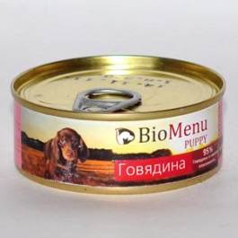 BioMenu консервы для щенков Говядина 100г