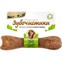 Зубочистики для собак средних пород с кальцием со вкусом Говядины 95г