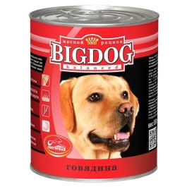 Зоогурман Big Dog консервы для собак 850г Говядина