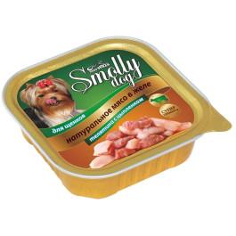 Зоогурман Смолли Дог консервы для щенков 100г Телятина с цыпленком
