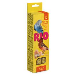 RIO Палочки для всех птиц с Яйцом и ракушечником 2шт*40г