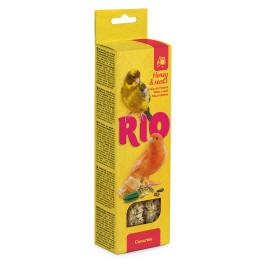 RIO Палочки для канареек с Медом и полезными семенами 2шт*40г