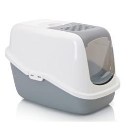 Туалет-домик для кошек с дверцей SAVIC Nestor 56*39*38,5см
