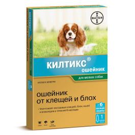 Килтикс ошейник от блох и клещей для мелких собак 35см