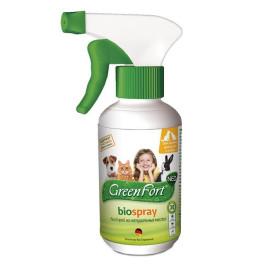 GreenFort БиоСпрей от блох для  кошек, собак и кроликов 200мл