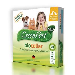 GreenFort БиоОшейник от эктопаразитов для кошек и собак мелких пород 40см