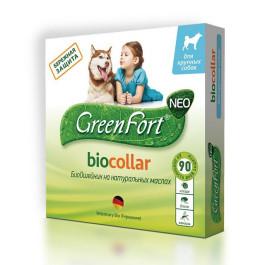 GreenFort БиоОшейник от эктопаразитов для собак крупных пород 75см