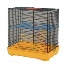 INTERZOO Клетка для грызунов TEDDY I +комплект 37*25*38.5см