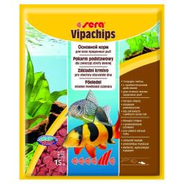 Sera Vipachips Корм для донных рыб, чипсы 15гр