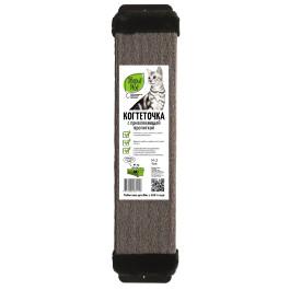 Когтеточка настенная Зверье моё ковровая с мехом с пропиткой 13*60см средняя