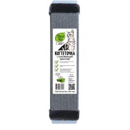 Когтеточка настенная Зверье моё ковровая с мехом с пропиткой 15*67см большая