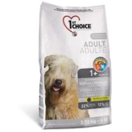 1st CHOICE корм для собак всех пород Гипоаллергенный, утка с картофелем