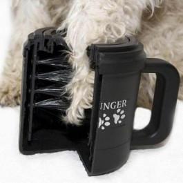 Paw Plunger Лапомойка для собак средняя, чёрная
