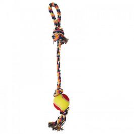 Игрушка для собак  Грейфер Веревка с мячом 43см Triol