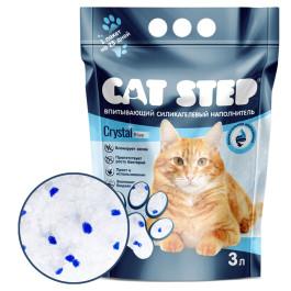 CAT STEP Crystal Blue Силикагелевый наполнитель