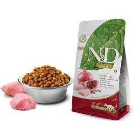 Farmina N&D Беззерновой корм для кастрированных кошек Курица, гранат