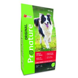 Pronature Original корм для собак всех пород Ягненок