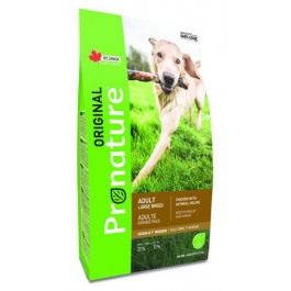 Pronature Original корм для собак крупных пород Курица, овес