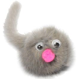 Игрушка для кошек Зверек из норки 5см Gosi (в уп.)
