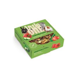Little One Пицца с овощами лакомство для всех видов грызунов 180г