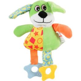 Игрушка для собак плюш Собака зеленая Zolux