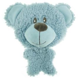 Игрушка для собак Успокаивающая BIG HEAD Мишка 12 см голубой Aromadog