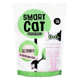 Smart Cat Силикагелевый наполнитель для чувствительных кошек, без аромата