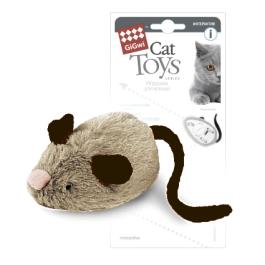 Игрушка для кошек Мышка интерактивная GiGwi