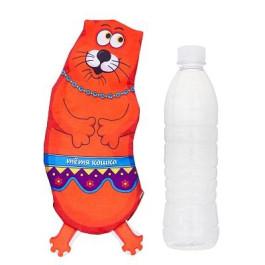 Игрушка для собак текстиль Тётя Кошка под бутылку 0,5л Антицарапки