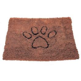 Коврик для собак Dog Gone Smart Doormat супервпитывающий, коричневый мокко