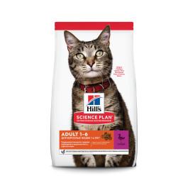 HILL'S Science Plan Optimal Care Adult корм для кошек с уткой