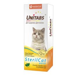 Unitabs SterilCat paste Паста для кастрированных котов и стерилизованных кошек 120мл