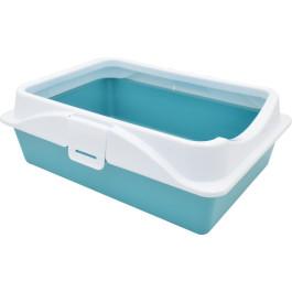 Туалет для кошек Zooexpress RICH с рамкой на защелках 40,5х30х14 см