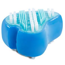 """Игрушка-зубная щетка для собак из термопластичной резины """"Клык"""", 95мм Triol"""