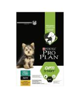 Pro Plan Small & Mini Pappy корм для щенков мелких пород, курица/рис